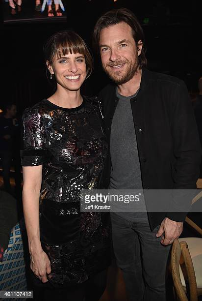 Actress Amanda Peet and actor Jason Bateman attend HBO's 'Togetherness' Los Angeles Premiere And After Party at Avalon on January 6 2015 in Hollywood...