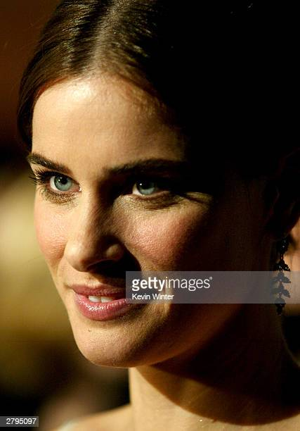 Actress Amanda Peet arrives at Columbia's Premiere of 'Something's Gotta Give' at Manns Village Theater December 8 2003 in Westwood California