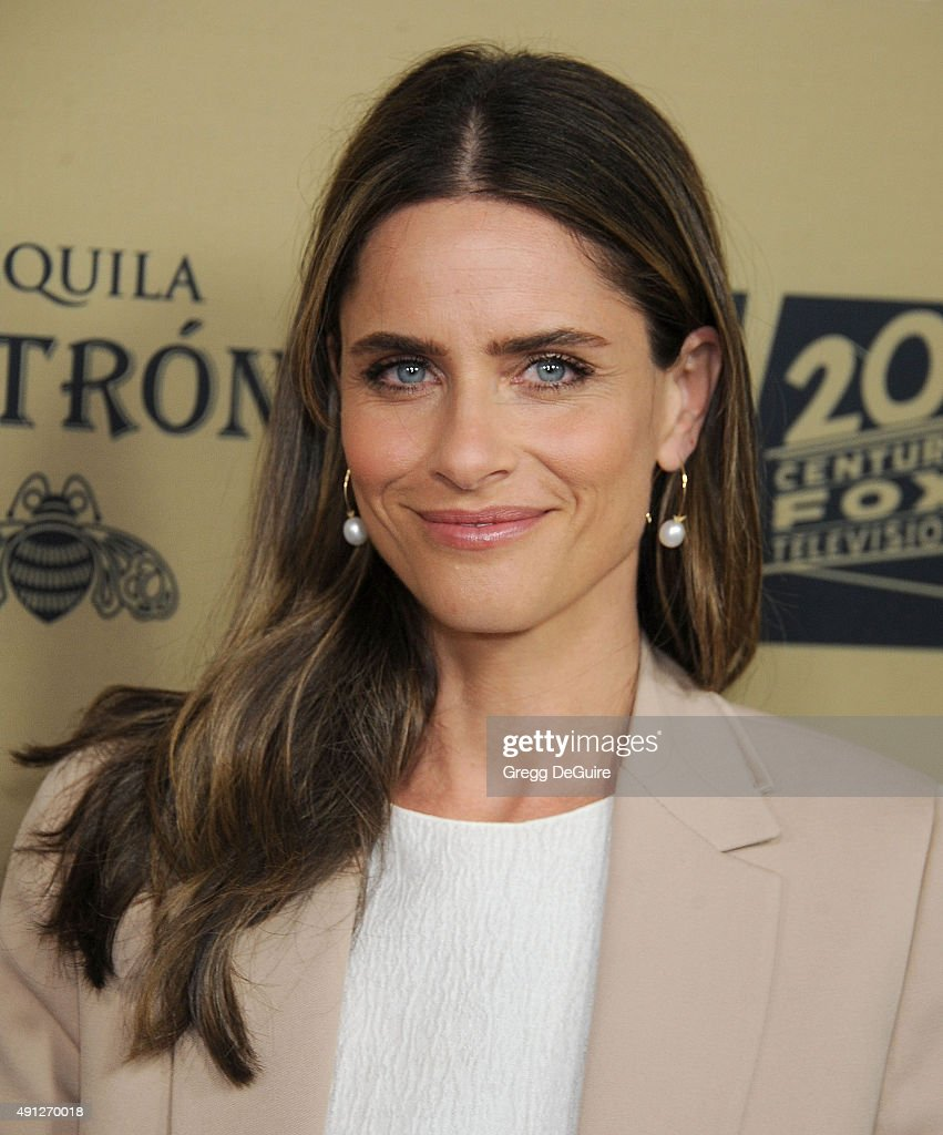 Actress <a gi-track='captionPersonalityLinkClicked' href=/galleries/search?phrase=Amanda+Peet&family=editorial&specificpeople=201910 ng-click='$event.stopPropagation()'>Amanda Peet</a> arrives at the premiere screening of FX's 'American Horror Story: Hotel' at Regal Cinemas L.A. Live on October 3, 2015 in Los Angeles, California.