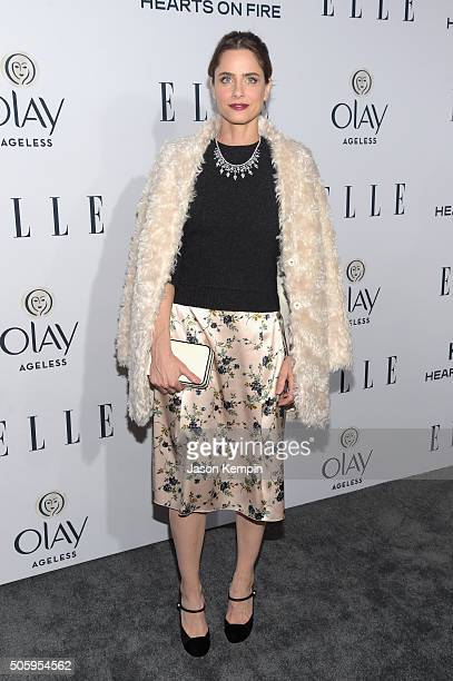 Actress Amanda Peet attends ELLE's 6th Annual Women In Television Dinner at Sunset Tower Hotel on January 20 2016 in West Hollywood California
