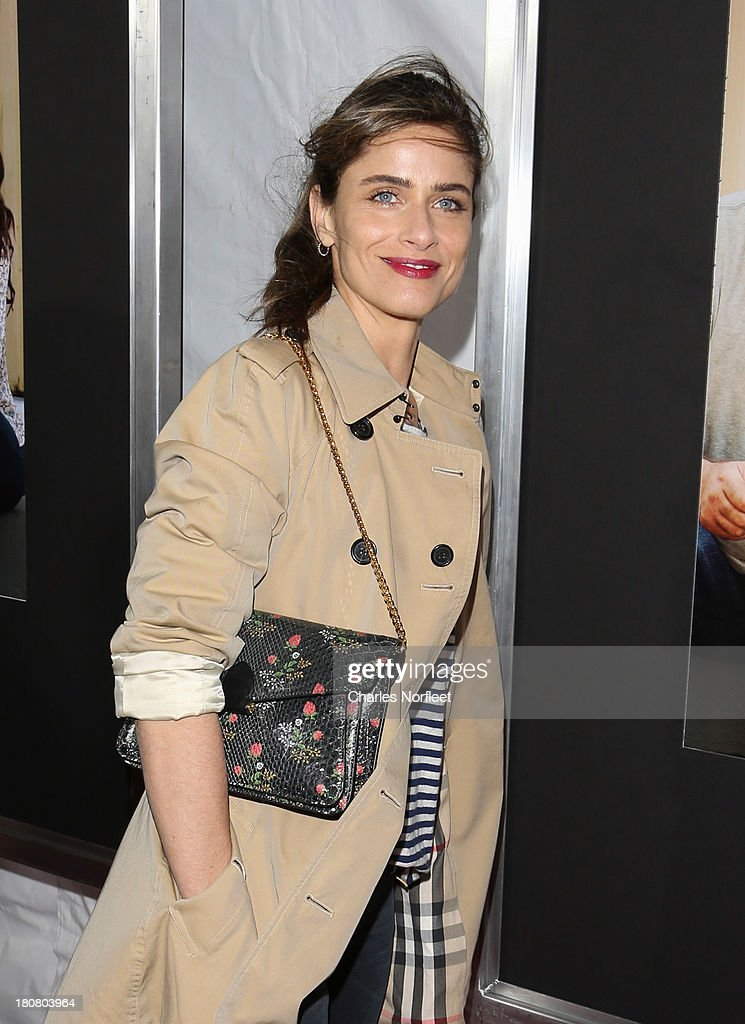 Actress <a gi-track='captionPersonalityLinkClicked' href=/galleries/search?phrase=Amanda+Peet&family=editorial&specificpeople=201910 ng-click='$event.stopPropagation()'>Amanda Peet</a> attends 'Enough Said' New York Screening at Paris Theater on September 16, 2013 in New York City.