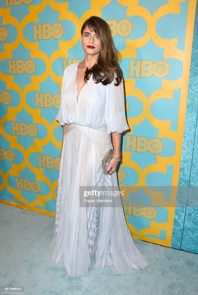 Actress <a gi-track='captionPersonalityLinkClicked' href=/galleries/search?phrase=Amanda+Peet&family=editorial&specificpeople=201910 ng-click='$event.stopPropagation()'>Amanda Peet</a> attends HBO's Post 2015 Golden Globe Awards Party at Circa 55 Restaurant on January 11, 2015 in Los Angeles, California.