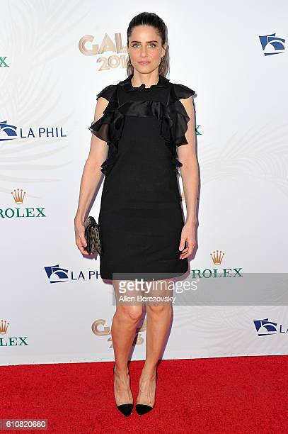 Actress Amanda Peet attends Los Angeles Philharmonic's 2016/17 Opening Night Gala Gershwin and the Jazz Age at Walt Disney Concert Hall on September...