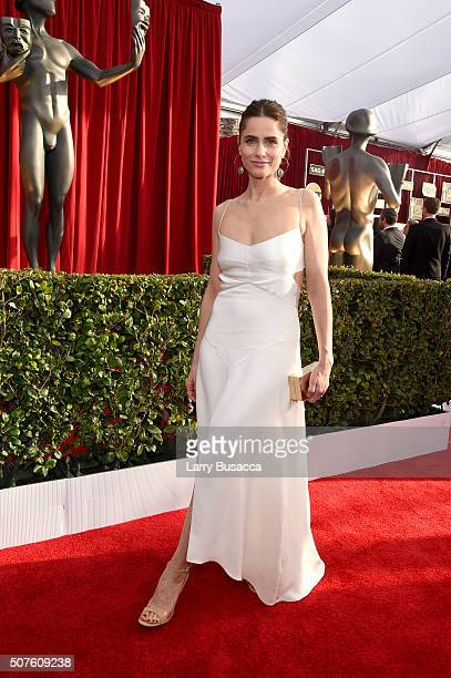 Actress Amanda Peet attends The 22nd Annual Screen Actors Guild Awards at The Shrine Auditorium on January 30 2016 in Los Angeles California 25650_014