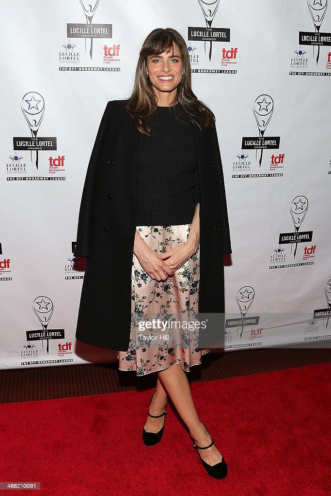 Actress <a gi-track='captionPersonalityLinkClicked' href=/galleries/search?phrase=Amanda+Peet&family=editorial&specificpeople=201910 ng-click='$event.stopPropagation()'>Amanda Peet</a> attends the 29th Annual Lucille Lortel Awards at NYU Skirball Center on May 4, 2014 in New York City.