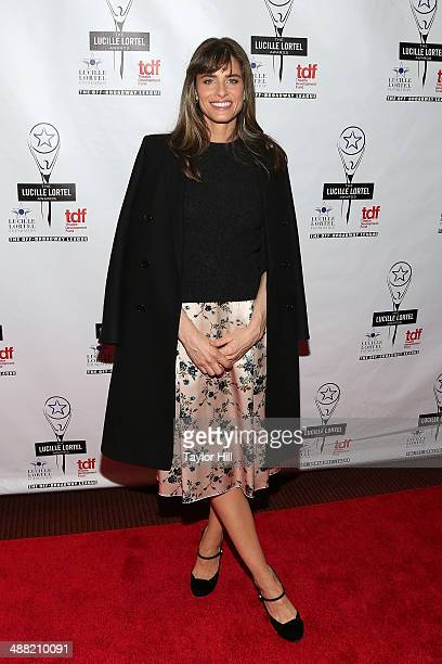 Actress Amanda Peet attends the 29th Annual Lucille Lortel Awards at NYU Skirball Center on May 4 2014 in New York City