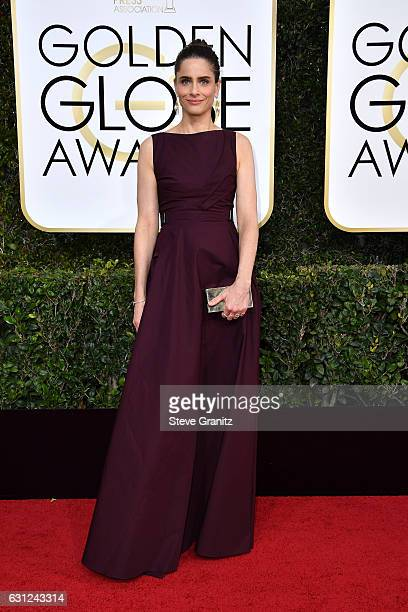 Actress Amanda Peet attends the 74th Annual Golden Globe Awards at The Beverly Hilton Hotel on January 8 2017 in Beverly Hills California