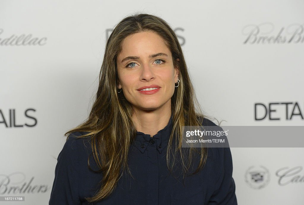 Actress Amanda Peet attends the DETAILS Hollywood Mavericks Party held at Soho House on November 29, 2012 in West Hollywood, California.
