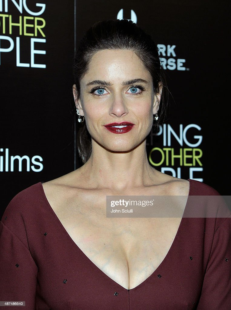 Actress <a gi-track='captionPersonalityLinkClicked' href=/galleries/search?phrase=Amanda+Peet&family=editorial&specificpeople=201910 ng-click='$event.stopPropagation()'>Amanda Peet</a> attends the Los Angeles premiere of IFC Films 'Sleeping with Other People' presented by Dark Horse Wine on September 9, 2015 in Los Angeles, California.
