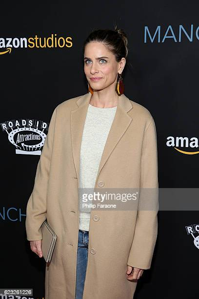 Actress Amanda Peet attends the premiere of Amazon Studios' 'Manchester By The Sea' at Samuel Goldwyn Theater on November 14 2016 in Beverly Hills...