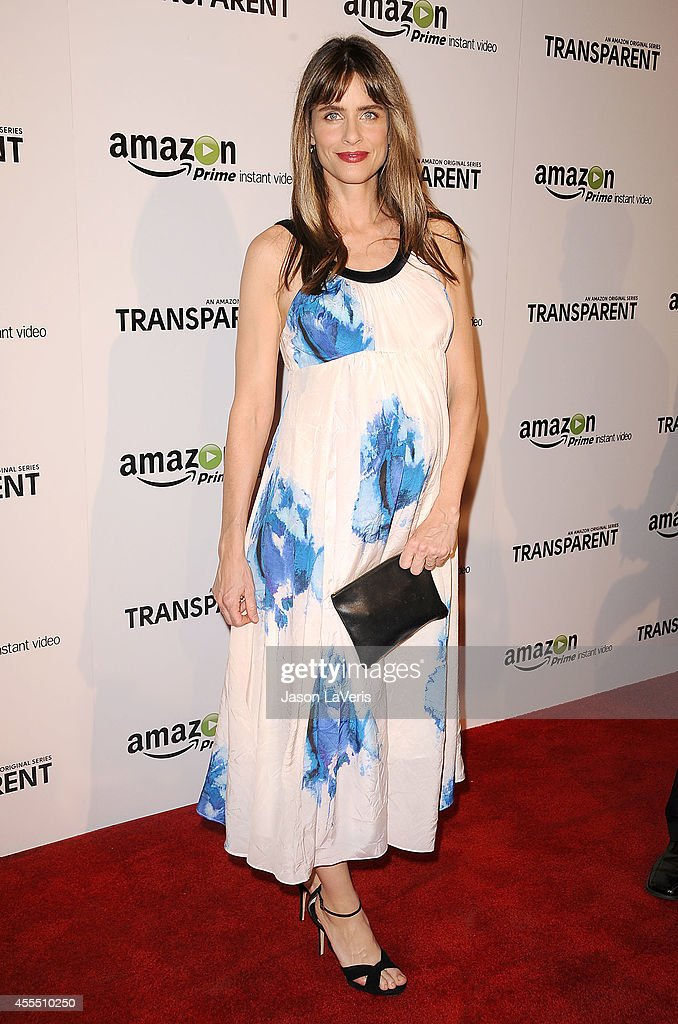 Actress Amanda Peet attends the premiere of 'Transparent' at Ace Hotel on September 15, 2014 in Los Angeles, California.