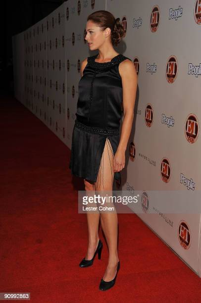 Actress Amanda Righetti arrives at the 13th Annual Entertainment Tonight and People Magazine Emmys After Party at the Vibiana on September 20 2009 in...