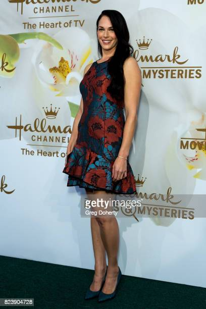 Actress Amanda Righetti arrives for the 2017 Summer TCA Tour Hallmark Channel And Hallmark Movies And Mysteries on July 27 2017 in Beverly Hills...