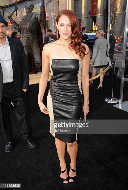 Actress Amanda Righetti arrives to the premiere 'Clash Of The Titans' held at Grauman's Chinese Theatre on March 31 2010 in Los Angeles California