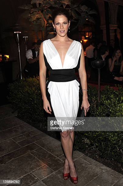 Actress Amanda Righetti attends Entertainment Weekly's celebration honoring the 17th Annual Screen Actors Guild Awards nominees hosted by Jess Cagle...