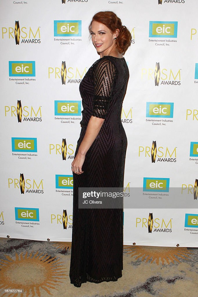 Actress Amanda Righetti attends the 17th Annual Prism Awards at Beverly Hills Hotel on April 25, 2013 in Beverly Hills, California.