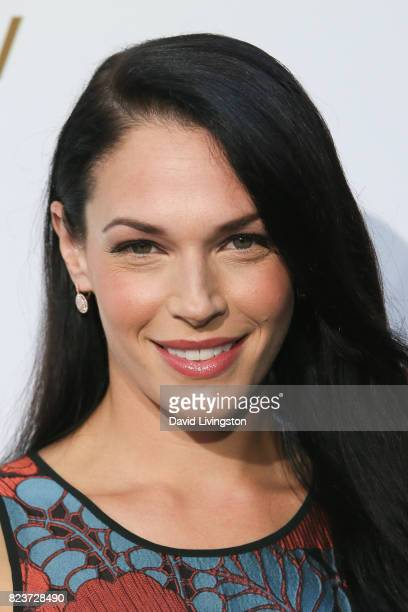 Actress Amanda Righetti attends the Hallmark Channel and Hallmark Movies and Mysteries 2017 Summer TCA Tour on July 27 2017 in Beverly Hills...