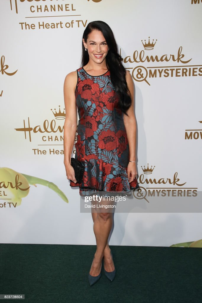 Actress Amanda Righetti attends the Hallmark Channel and Hallmark Movies and Mysteries 2017 Summer TCA Tour on July 27, 2017 in Beverly Hills, California.