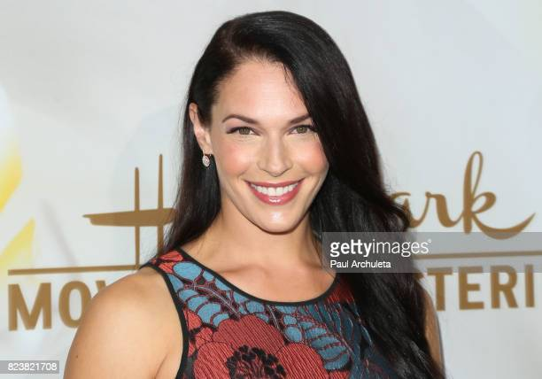 Actress Amanda Righetti attends the Hallmark Channel And Hallmark Movies And Mysteries 2017 Summer TCA Tour at on July 27 2017 in Beverly Hills...