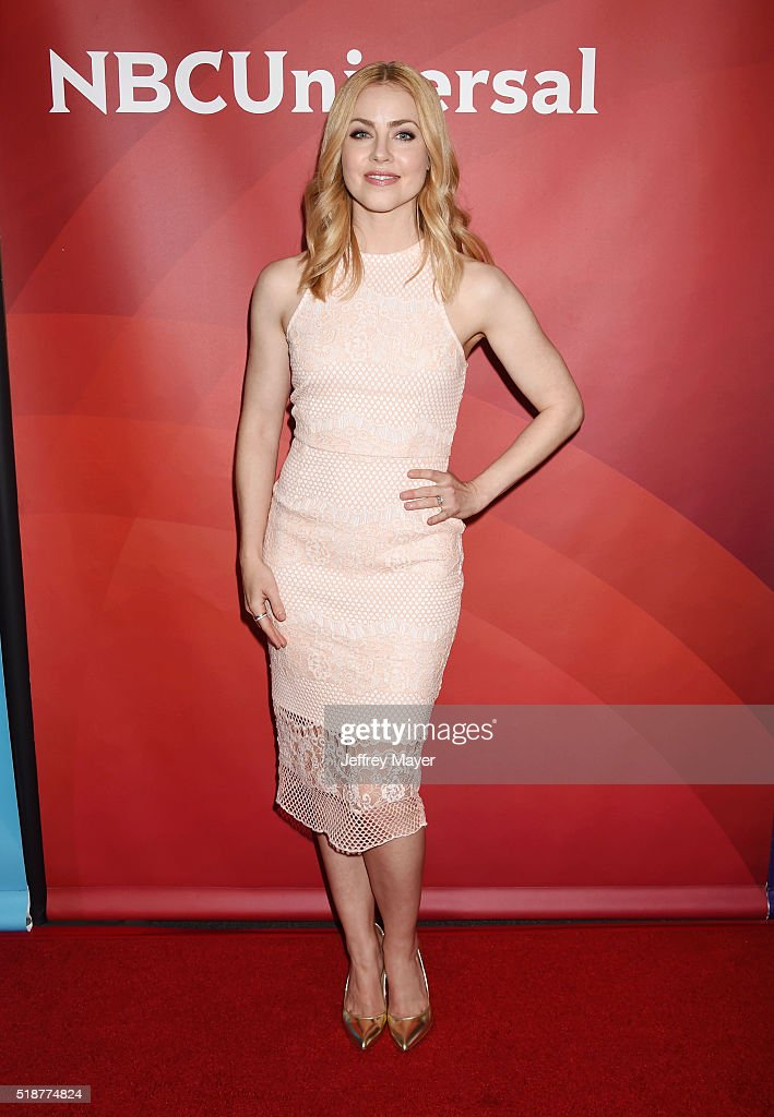 Actress Amanda Schull arrives at the 2016 Summer TCA Tour - NBCUniversal Press Tour at the Four Seasons Hotel - Westlake Village on April 1, 2016 in Westlake Village, California.