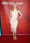 Actress Amanda Schull arrives at the 2016 Summer TCA Tour NBCUniversal Press Tour at the Four Seasons Hotel Westlake Village on April 1 2016 in...
