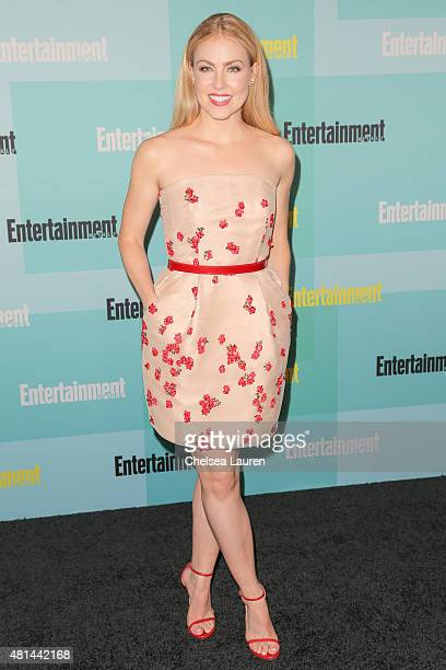 Actress Amanda Schull arrives at the Entertainment Weekly celebration at Float at Hard Rock Hotel San Diego on July 11 2015 in San Diego California