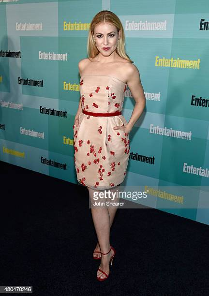 Actress Amanda Schull attends Entertainment Weekly's ComicCon 2015 Party sponsored by HBO Honda Bud Light Lime and Bud Light Ritas at FLOAT at The...
