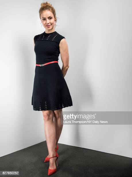 Actress Amanda Schull photographed for the NY Daily News on April 24 in New York City