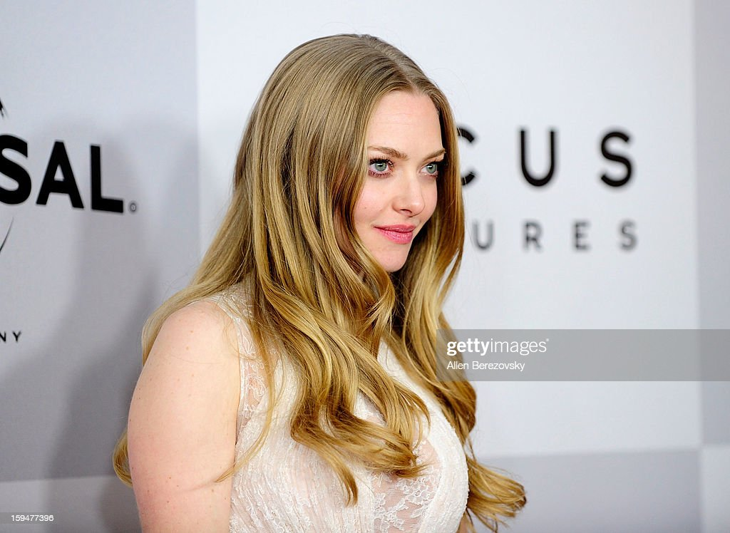 Actress Amanda Seyfried arrives at the NBC Universal's 70th annual Golden Globe Awards after party on January 13, 2013 in Beverly Hills, California.