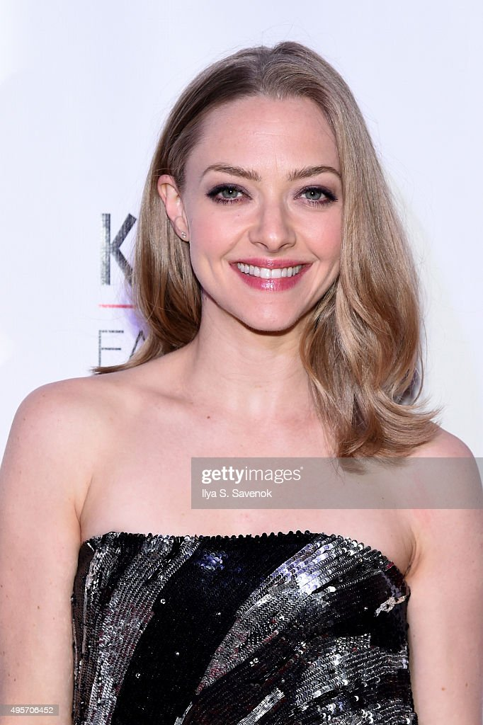 Actress Amanda Seyfried attends K.I.D.S/Fashion Delivers Annual Gala at American Museum of Natural History on November 4, 2015 in New York City.