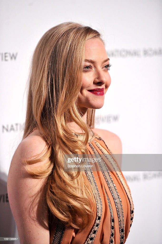 Actress Amanda Seyfried attends the 2013 National Board Of Review Awards at Cipriani 42nd Street on January 8, 2013 in New York City.