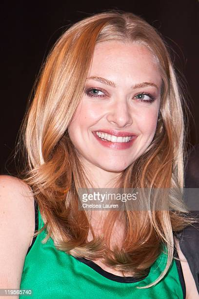 Actress Amanda Seyfried attends the 20th Century Fox panel at 2011 ComicCon International Day 1 at San Diego Convention Center on July 21 2011 in San...
