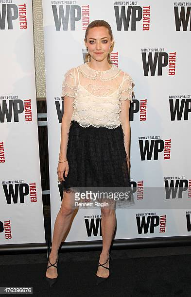 Actress Amanda Seyfried attends the 30th Annual Women of Achievement Awards at The Edison Ballroom on June 8 2015 in New York City