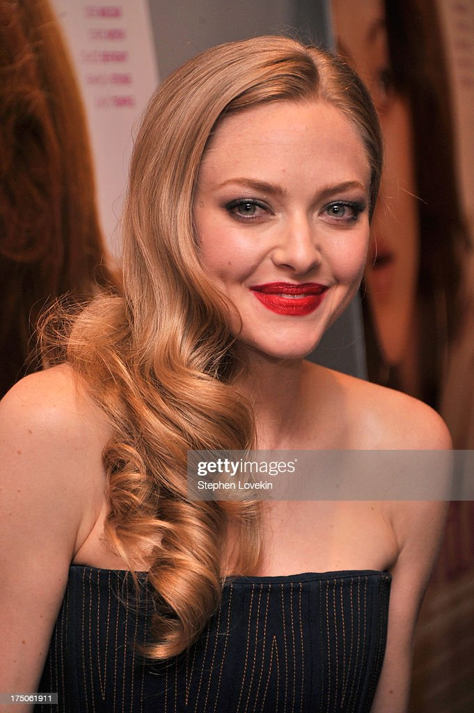 Actress <a gi-track='captionPersonalityLinkClicked' href=/galleries/search?phrase=Amanda+Seyfried&family=editorial&specificpeople=216619 ng-click='$event.stopPropagation()'>Amanda Seyfried</a> attends The Cinema Society and MCM with Grey Goose screening of Radius TWC's 'Lovelace' at MoMA on July 30, 2013 in New York City.