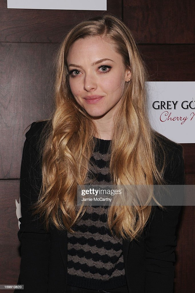 Actress <a gi-track='captionPersonalityLinkClicked' href=/galleries/search?phrase=Amanda+Seyfried&family=editorial&specificpeople=216619 ng-click='$event.stopPropagation()'>Amanda Seyfried</a> attends the Grey Goose Blue Door 'Lovelace' Party on January 22, 2013 in Park City, Utah.