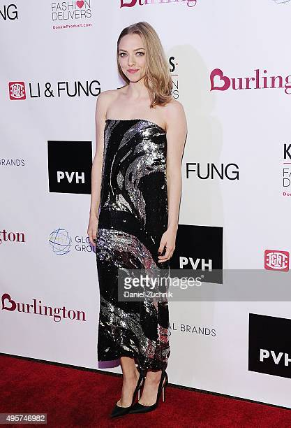 Actress Amanda Seyfried attends the KIDS/Fashion Delivers Annual Gala at American Museum of Natural History on November 4 2015 in New York City