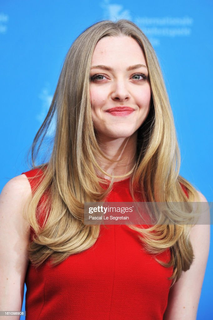 Actress Amanda Seyfried attends the 'Lovelace' Photocall during the 63rd Berlinale International Film Festival at Grand Hyatt Hotel on February 9...