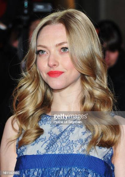 Actress Amanda Seyfried attends the 'Lovelace' Premiere during the 63rd Berlinale International Film Festival at Friedrichstadtpalast on February 9...
