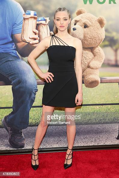 Actress Amanda Seyfried attends the New York Premiere of 'Ted 2' at the Ziegfeld Theater on June 24 2015 in New York City