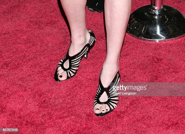 Actress Amanda Seyfried attends the premiere of HBO's 'Big Love' 3rd season at the Cinerama Dome January 14 2009 in Hollywood California