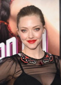 Actress Amanda Seyfried attends the premiere of Universal Pictures and MRC's 'A Million Ways To Die at The West' at Regency Village Theatre on May 15...
