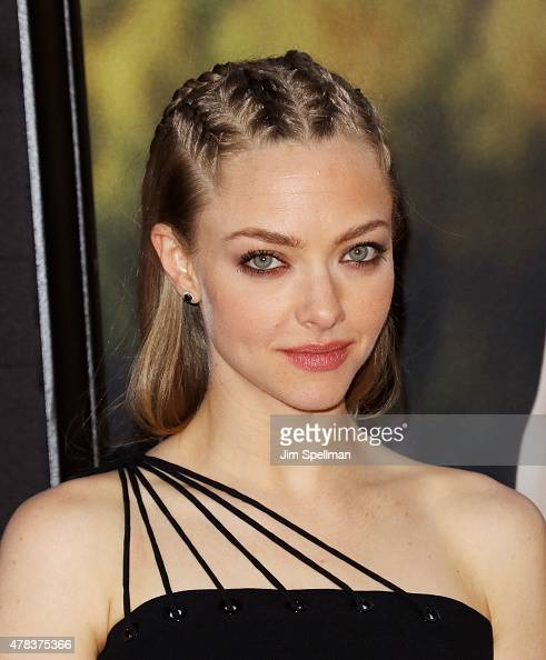 Actress Amanda Seyfried attends the 'Ted 2' New York premiere at Ziegfeld Theater on June 24 2015 in New York City