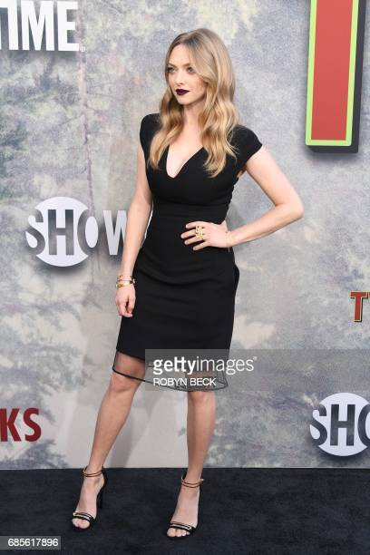 Actress Amanda Seyfried attends the world premiere of the Showtime limitedevent series 'Twin Peaks' May 19 2017 at the Ace Hotel in Los Angeles...