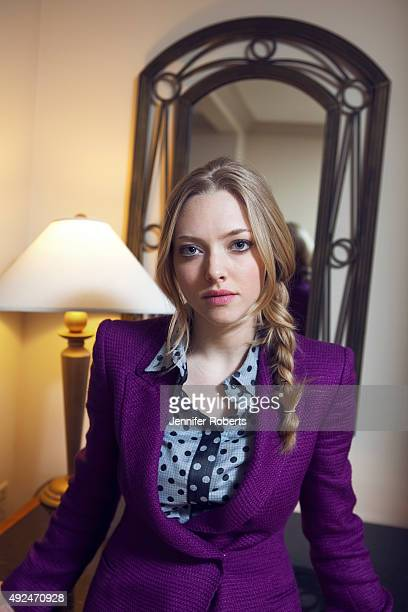 Actress Amanda Seyfried is photographed for The Globe and Mail on September 10 2011 in Toronto Ontario