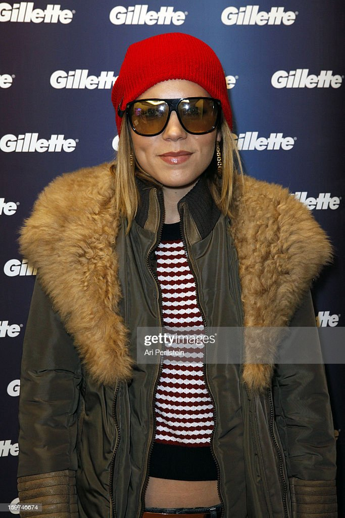 Actress Amanda Walsh attends Gillette Ask Couples at Sundance to 'Kiss & Tell' if They Prefer Stubble or Smooth Shaven - Day 2 on January 19, 2013 in Park City, Utah.