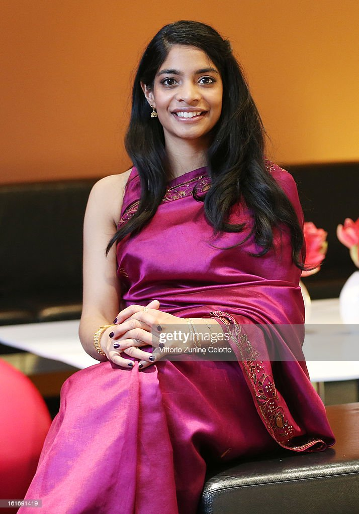 Actress <a gi-track='captionPersonalityLinkClicked' href=/galleries/search?phrase=Amara+Karan&family=editorial&specificpeople=4498471 ng-click='$event.stopPropagation()'>Amara Karan</a> attends the 'Jadoo' Portrait Session during the 63rd Berlinale International Film Festival at Berlinale Palast on February 14, 2013 in Berlin, Germany.