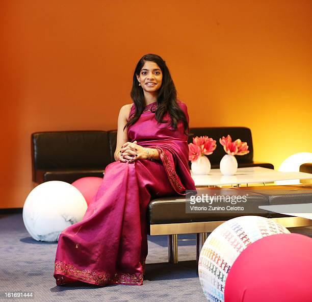 Actress Amara Karan attends the 'Jadoo' Portrait Session during the 63rd Berlinale International Film Festival at Berlinale Palast on February 14...