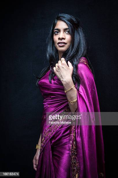 Actress Amara Karan is photographed for Self Assignment on February 10 2013 in Berlin Germany
