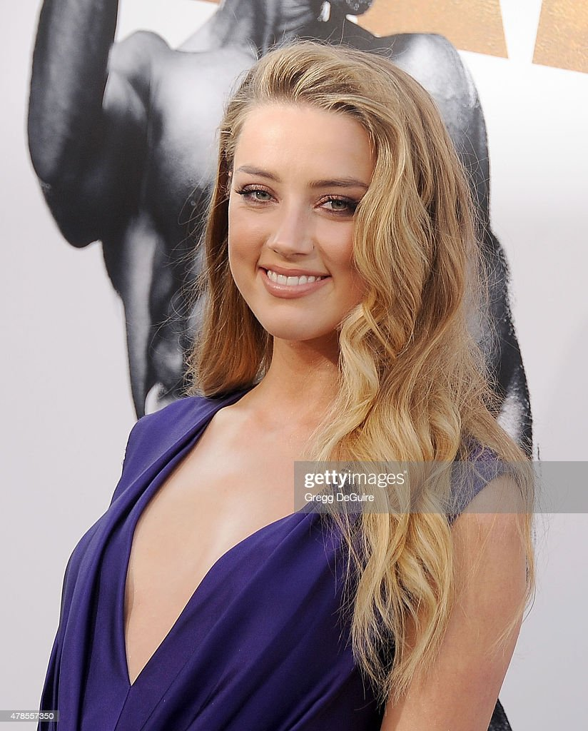 Actress Amber Heard arrives at the Los Angeles World Premiere of Warner Bros. Pictures' 'Magic Mike XXL' at TCL Chinese Theatre IMAX on June 25, 2015 in Hollywood, California.