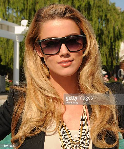 Actress Amber Heard attends Equality California's Harvey Milk Day Celebration At The Osbourne Estate Hill House on May 22 2010 in Hidden Hills...